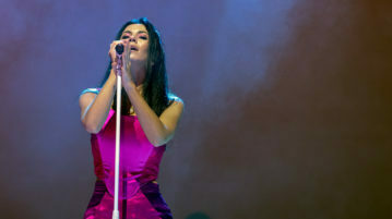 UK Pop Singer Marina Performing at Manchester Apollo UK as part of her LOVE & FEAR European Tour 2019